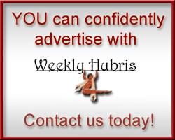 Advertise on Weekly Hubris
