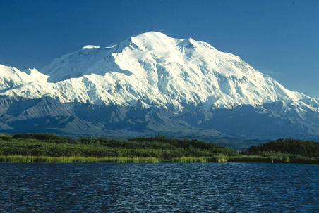 Mt Denali, North America's tallest peak