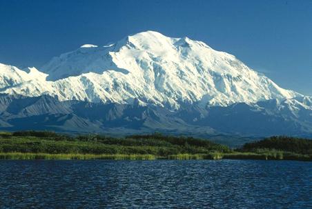 Mt Denali, North America's tallest peak