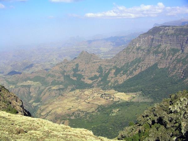 An Ethiopian vista.