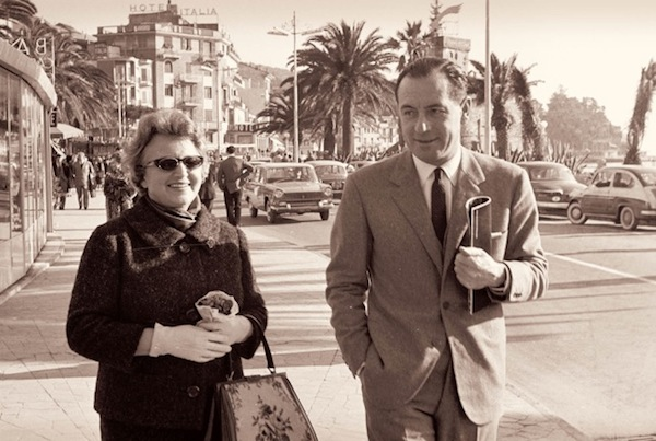 Frieda and Bubi Bacigalupo, Rapallo, 1960s.