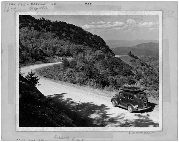 """In the isloated """"hollers"""" of the Great Blue Ridge, an older form of English was spoken in the 1930s and 40s."""