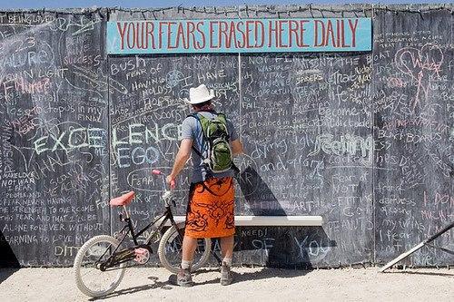 The great chalkboard of fear.