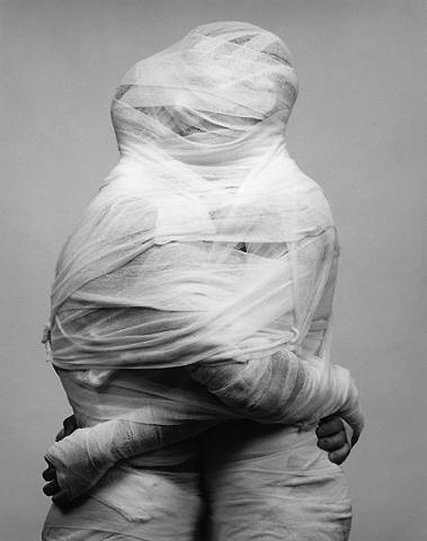 "Robert Mapplethorpe's ""White Gauze,"" 1984."