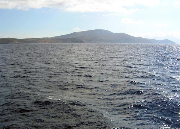 Approaching Iraklia.