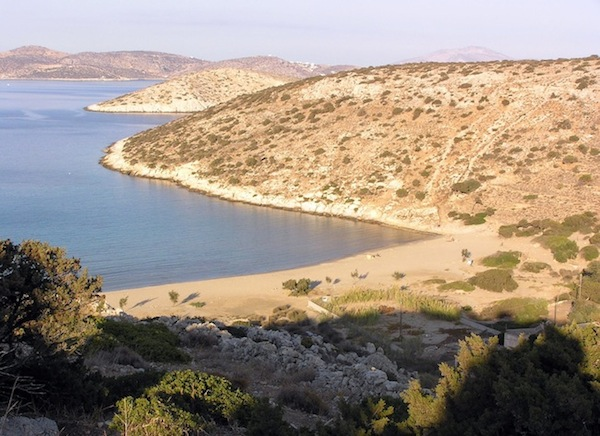 Livadi beach.