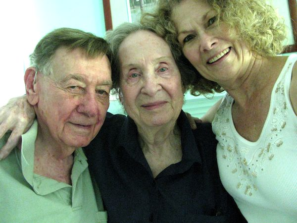 Bill and Betty Balk with Sharyn Chrystal Vogel, c. 2005.