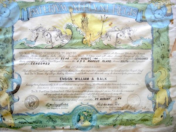 A Hard-won certificate