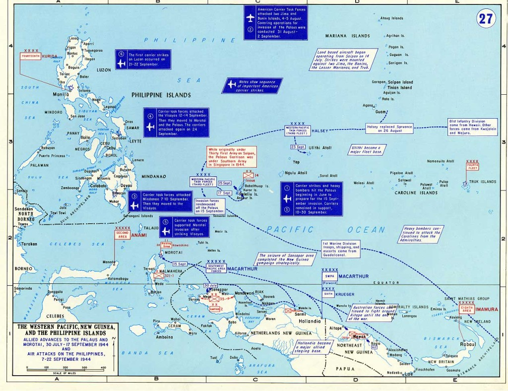 The Pacific Campaign.