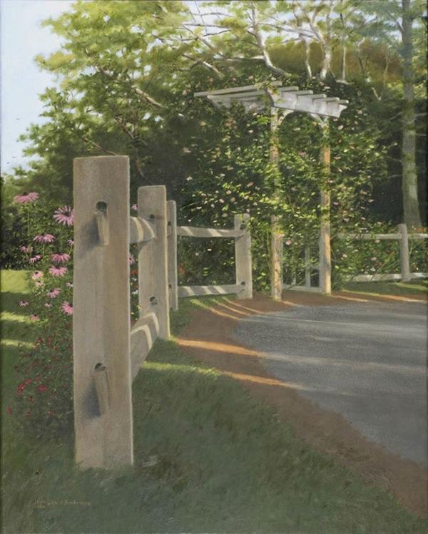 """""""Thalia's Arbor,"""" Oil on Canvas, 30"""" X 24"""" (2008)"""