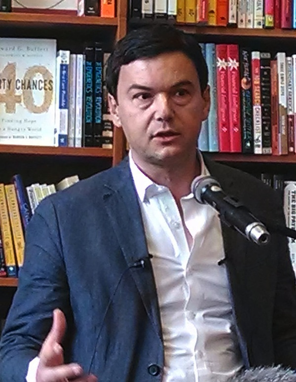Thomas Piketty: superstar assails super-salaries.