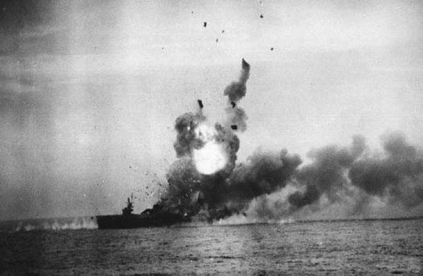 Kamikaze attack!