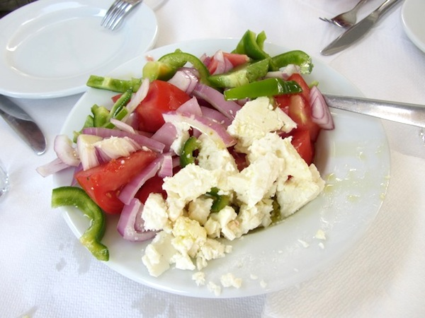 Sometimes it's just a simple salad that lingers in the memory.