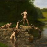 "Thomas Eakins's ""The Swimming Hole."""