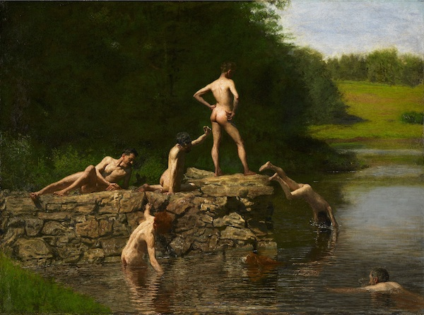 "Thomas Eakins's ""The Swimming Hole."""