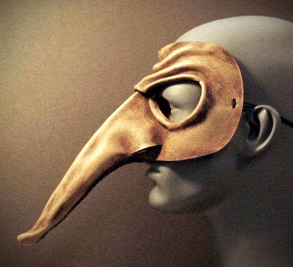 """Mask of Zanni"" (Photo by Tom Banwell)"