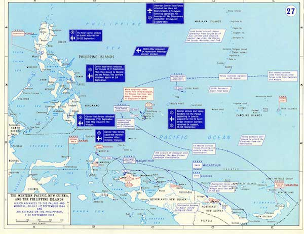 The Philippines and Pacific Theater.