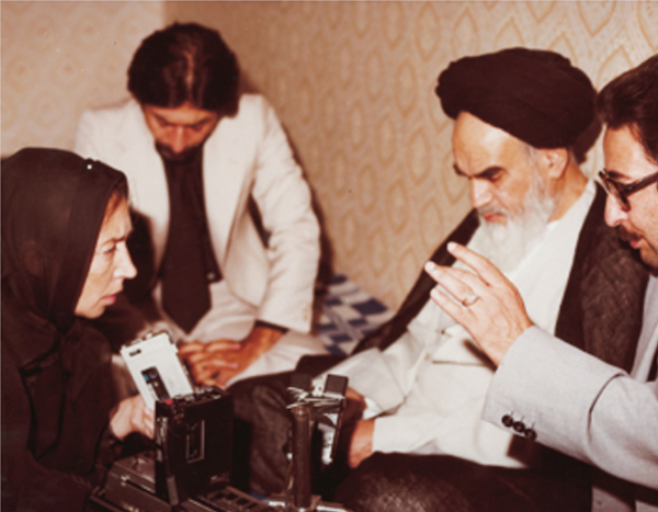 Interviewing The Ayatollah Khomeini.