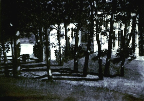 """Moonlight On Daniels Island,"" Watercolor, 21.5"" X 29.5"" (1990)."
