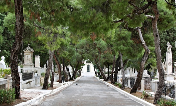 Athens' First Cemetery.