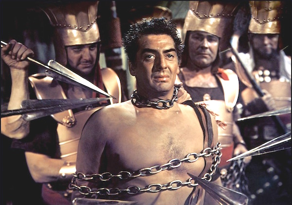 Victor Mature, as Samson.