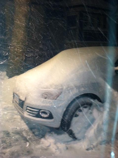 BGC's first New England winter