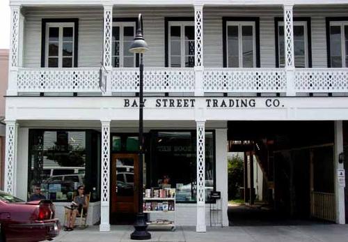 The bookstore.