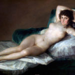 """""""La maja desnuda,"""" Francisco Goya, c. 1797–1800."""