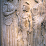 Eleusis frieze depicting initia tion into the Mysteries, late 5thc. BCE.