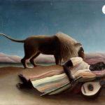 """Henri Rousseau, """"The Sleeping Gypsy."""""""