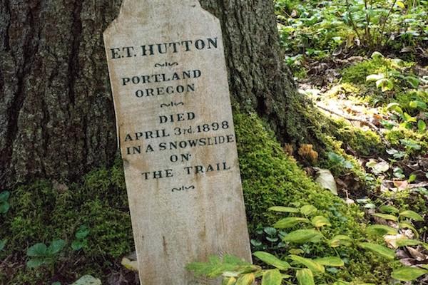 Gone but not forgotten in Dyea, Alaska.