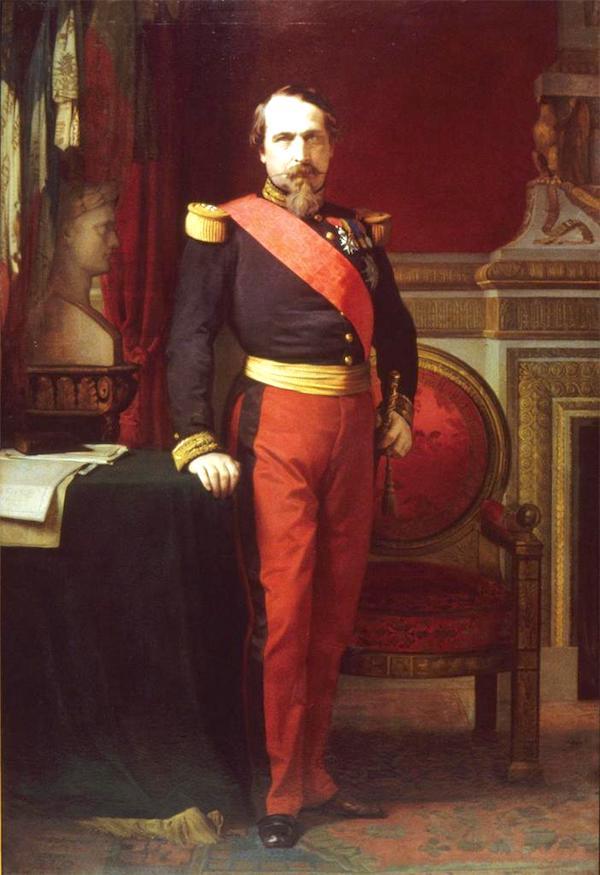 Jean Hyppolite Flandrin, Napoleon III in 1863.