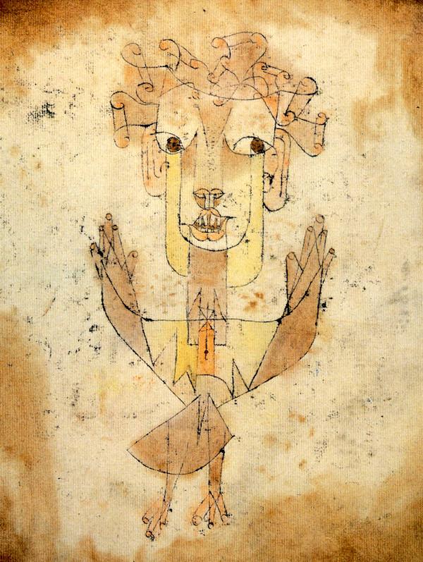 "Paul Klee, ""Angelus Novus."""