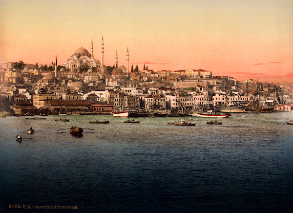 Constaninople, in the 1890s.