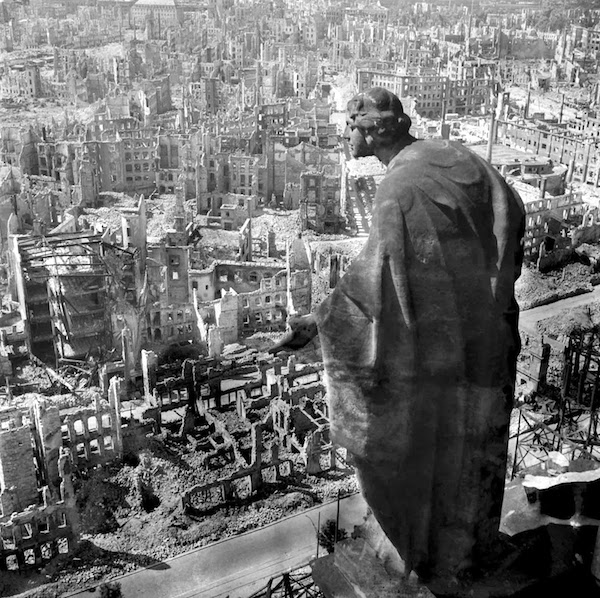 The rubble of Dresden.