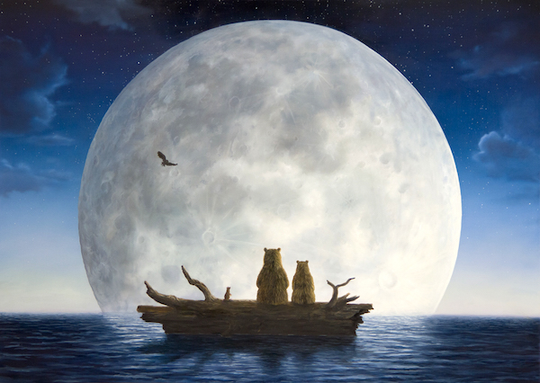 """""""The Moonlighters,"""" by Robert Bissell."""