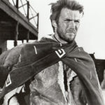 """Publicity photo of Clint Eastwood from """"A Fistful of Dollars,"""" 1964."""