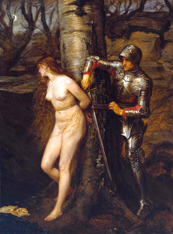 "Fantasies of heroic masculinity: John Everett Millais, ""The Knight Errant."""