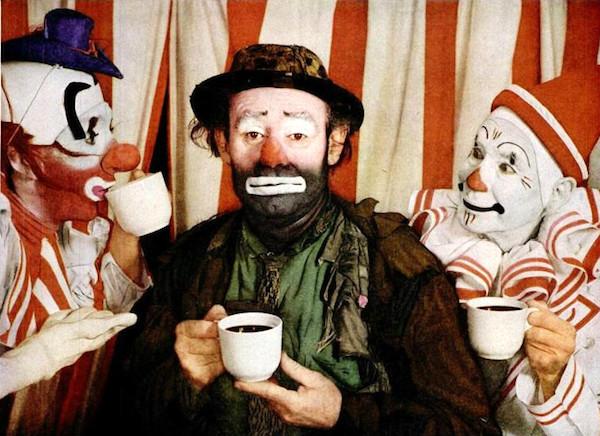 Emmett Kelly, our quintessential American clown.