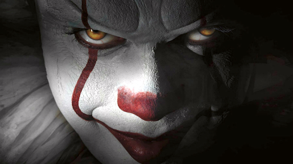 Stephen King's diabolical Pennywise.