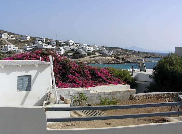 Donoussa: view from my terrace.