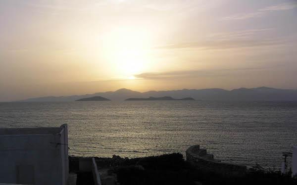 Sunset over Naxos.