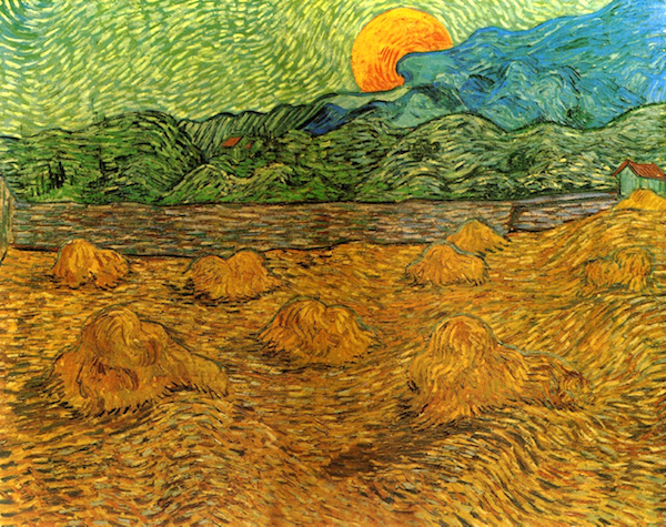 """Wheat Field with Crows,"" Vincent Van Gogh, July 1890."