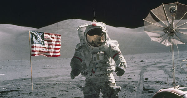 American greatness: NASA's Apollo missions.