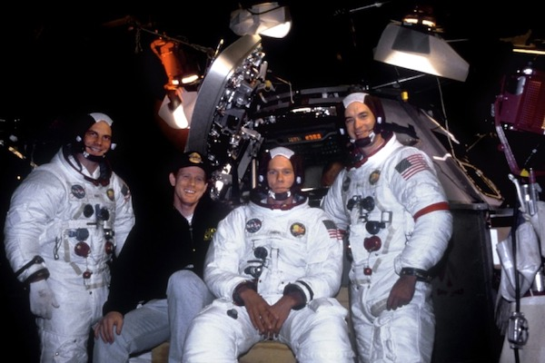 Bill Paxton, Director Ron Howard, Kevin Bacon, and Tom Hanks.