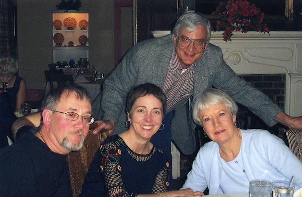 """Dean Pratt, Elizabeth, Ingrid Eisiminger and, standing, Dr. Sterling K. """"Skip"""" Eisiminger, Pendleton SC."""