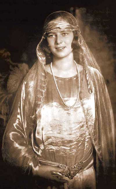 Princess Ileana of Romania, 1920s.