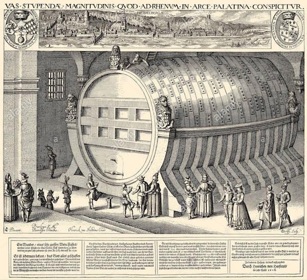 The Heidelberg barrel.