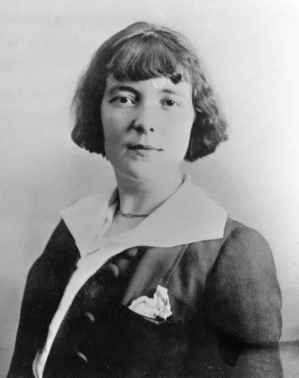 Katherine Mansfield, 1912.