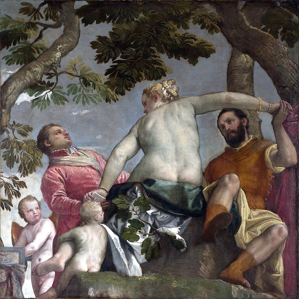 """Paolo Veronese, """"Allegory of Love I: Unfaithfulness."""""""
